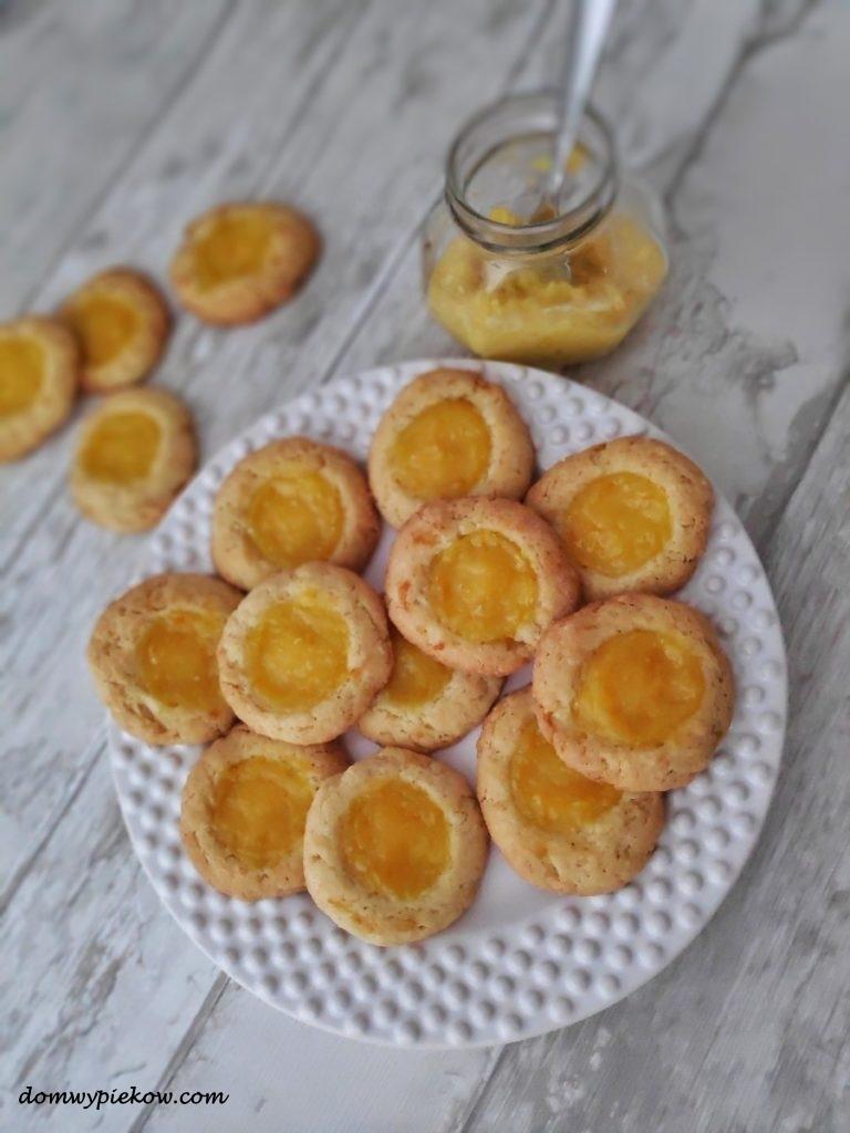 Kruche ciasteczka z orange curd