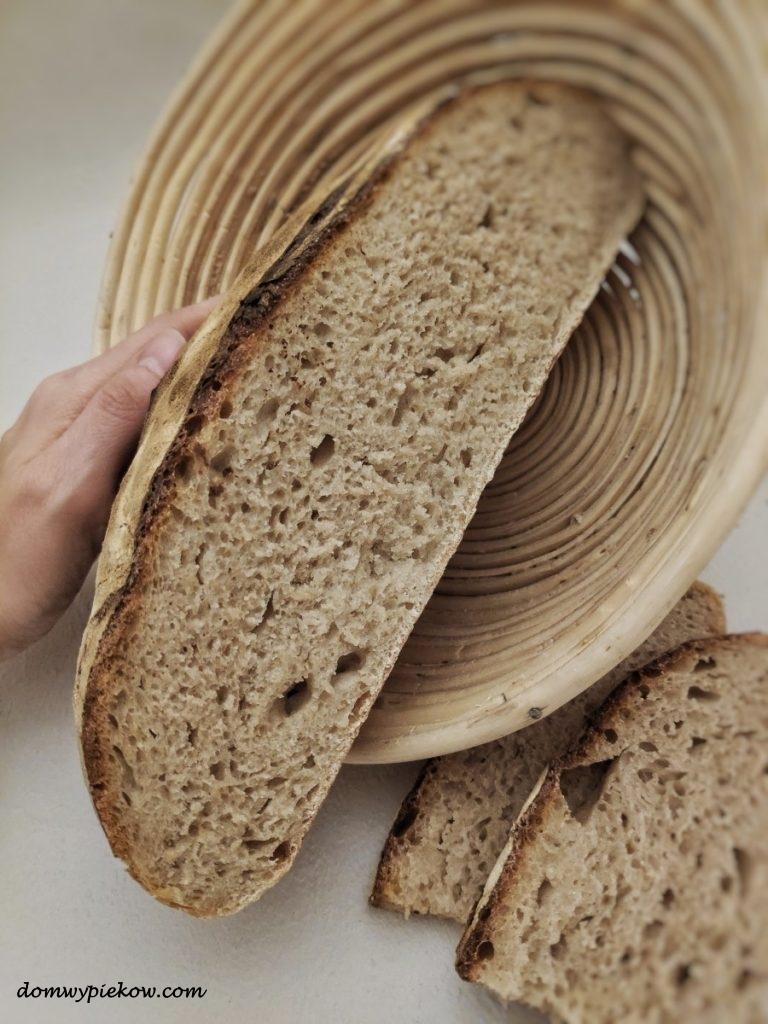 Chleb pszenny na zakwasie (Pain au levain)