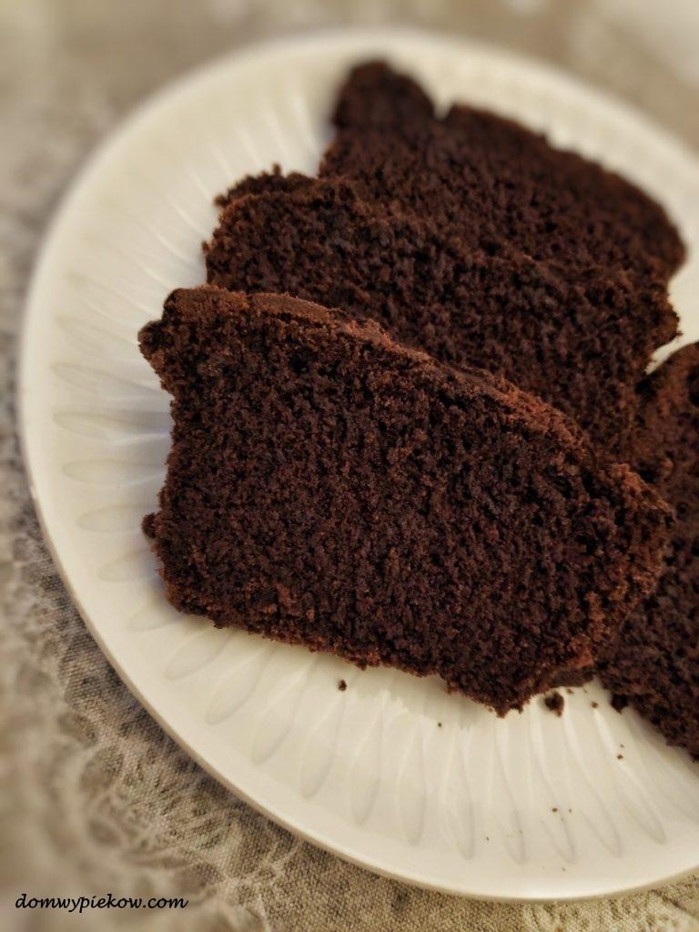 Ciężkie ciasto czekoladowe