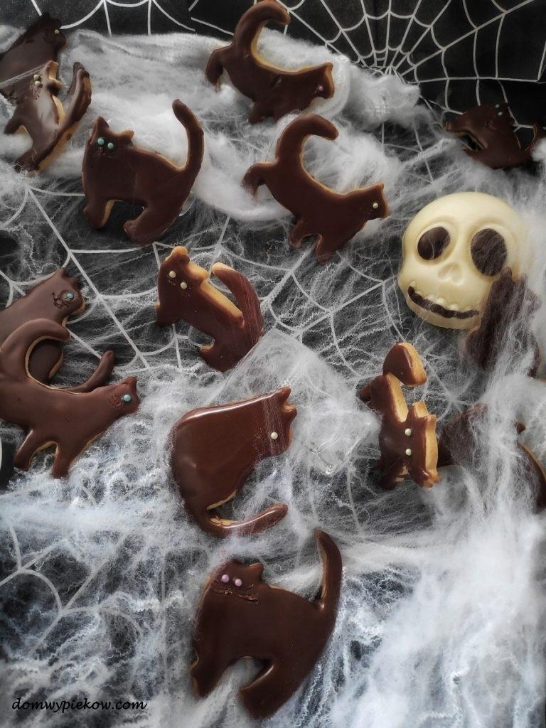 Ciasteczka czarne kocury