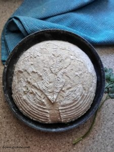 Pszenny chleb vermont na zakwasie