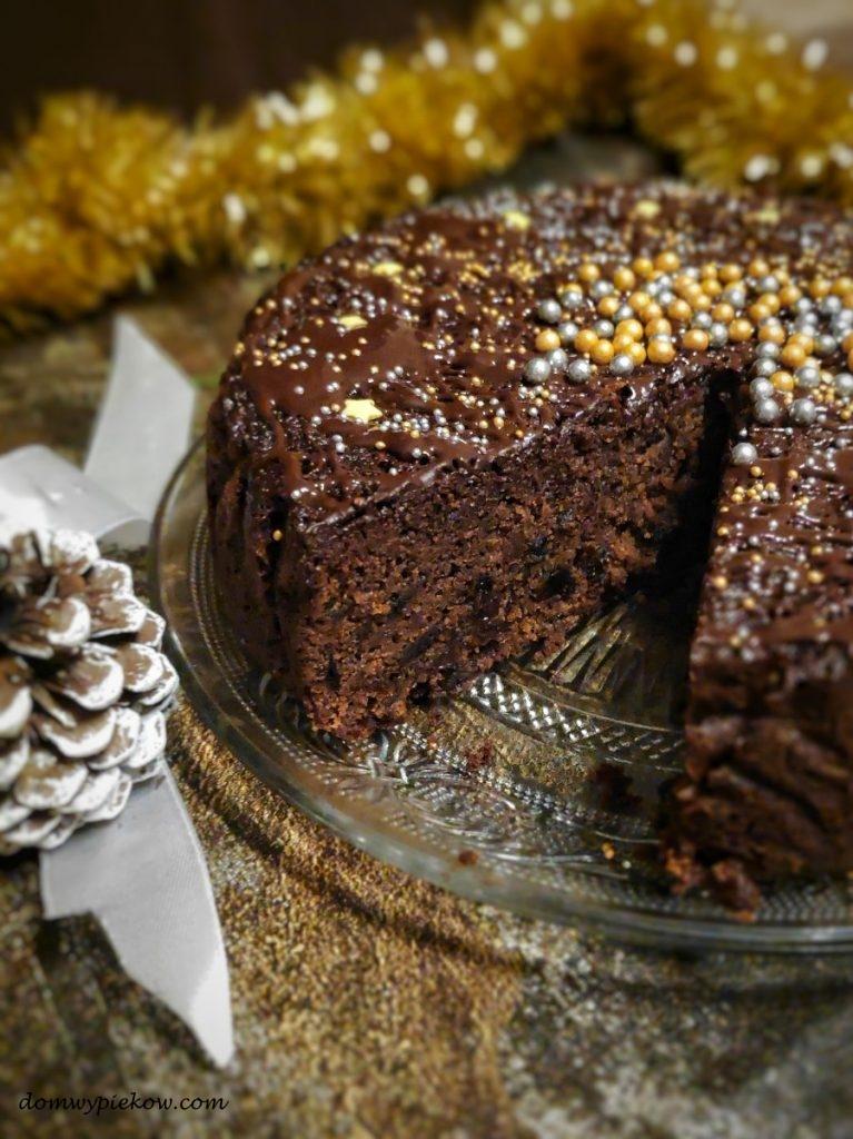 Prosty keks czekoladowy