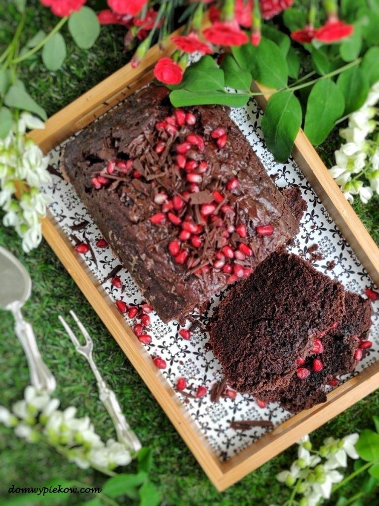 Ciasto poczwórnie czekoladowe